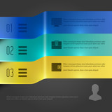 Creative Infographics Template Banners Chart Diagram