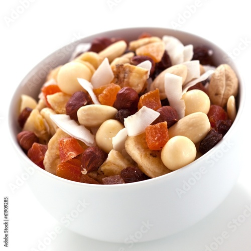 Dried fruits and nut mix