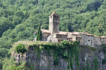 Castellfollit de la Roca, Girona (España)