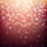 Festive blurred background with bokeh