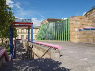 Neue Staatsgalerie in Stuttgart
