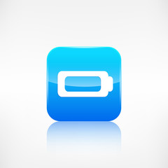 Battery icon. Accumulator symbol.