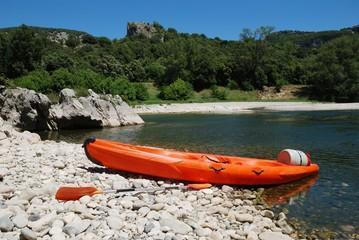canoe - Ardèche, France