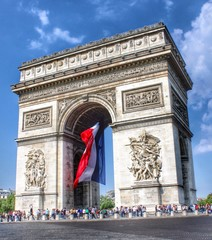 Arc Of Triomphe, Paris