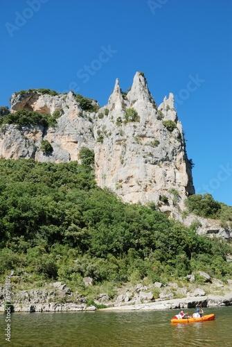 Leinwanddruck Bild cathedral - Ardèche