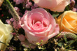Wedding Flowers: Different shades of pink roses