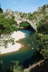 Pont d' Arc, Ardèche, France