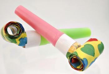Papiertröten Freisteller
