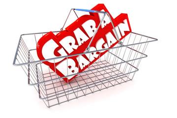 Sale Basket Illustration