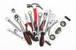 Leinwandbild Motiv Many Tools