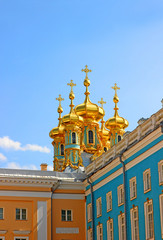 Orthodox church of Resurrection in the Catherine Palace