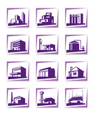Different types of construction - vector illustration