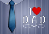 tie and shirt for Father's Day