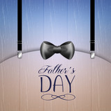 Happy Father's Day with bow tie