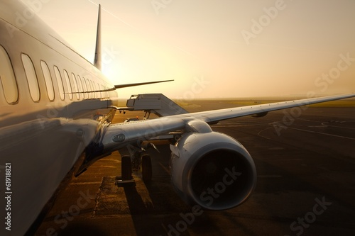 Papiers peints Avion à Moteur Airliner