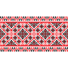 national pattern fabric texture horizontal