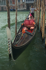gondola at dock
