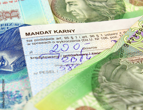 The mandate of the penalty in Poland - 61922064