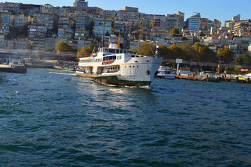 Historical ferryboats of Istanbul