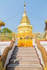 Thai temple Doi Suthep
