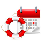 Flotation ring and calendar