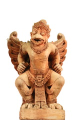 old Garuda Stone Carving