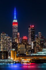Empire State Building honors Presidents' Day