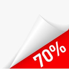 Paper corner discount