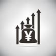yuan chart growth