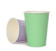 Colorful paper cups