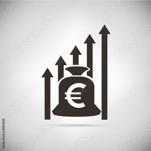 euro chart growth