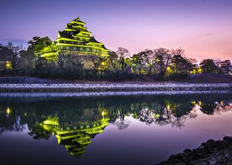 Okayama Castle in Okayama, Japan