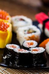 Japanese fresh sushi set