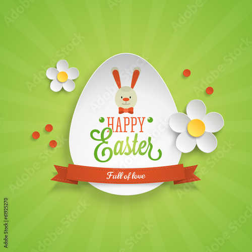 Easter holiday card design