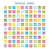 Fototapety vehicle icons