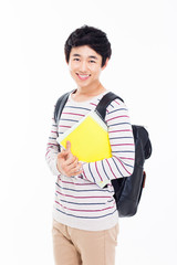 Young Asian student
