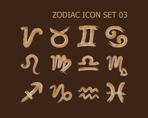 zodiac icon set 03