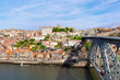 Bridge of Luis I over Douro river , Porto, Portugal