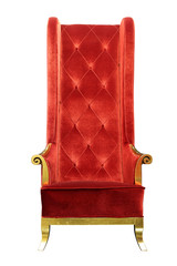 Luxury Arm Chair with Clipping path