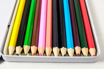 New Colored Pencils Textured