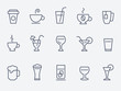 drink icons - 61928216