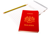 Passports and Notepad