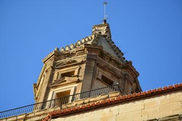 Campanario en iglesia de alava (Elvillar)