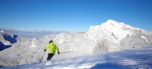 ski de poudreuse - saint pierre de chartreuse