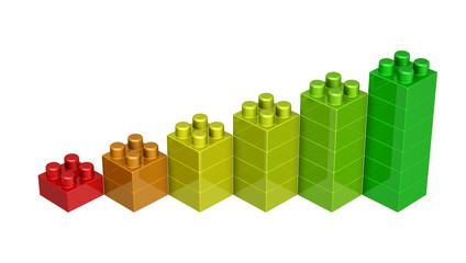 3D lego blocks