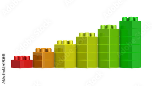 papier peint blocs lego 3d fond 3d activit. Black Bedroom Furniture Sets. Home Design Ideas
