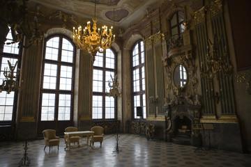 castle in Ksiaz in Poland