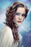 Fototapety Glamourous young woman