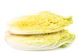Sliced tasty chinese cabbage.
