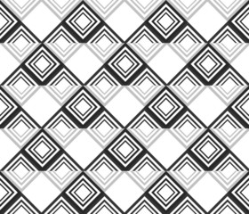 Seamless beautiful geometric abstract pattern Vector repeating t